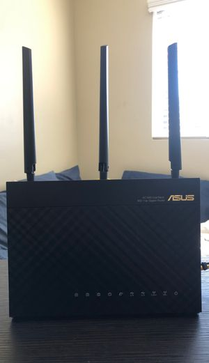 Asus dual band gigabit wireless router for Sale in San Diego, CA