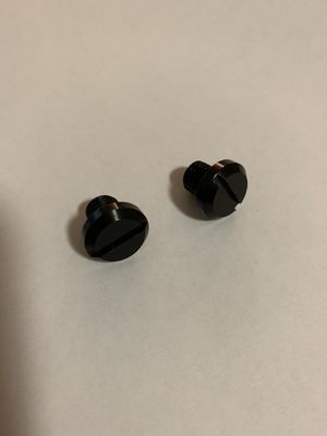 Pair of Black Motorcycle aluminum alloy mirror hole plugs for Sale in Fort Lauderdale, FL