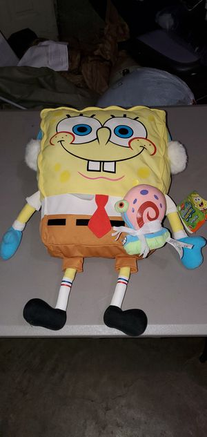 Spongebob square pants stuffed animal for Sale in Nashville, TN