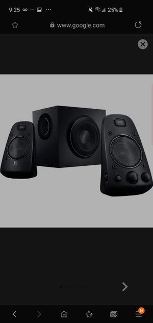 Logitech 980-000402 THX-Certified 200 Watts RMS 2.1 Speaker System, Black for Sale in Woodinville, WA