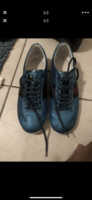 Gucci sneakers retail $790 sale $350 obo for Sale in Buffalo, NY