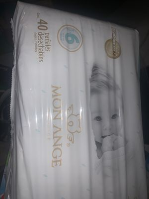 Size 6 diapers 40 count for Sale in Los Angeles, CA