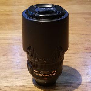 Nikon 70-300mm f/4.5-5.5G ED AF-S Zoom F Mount Camera Lens for Sale in Germantown, MD