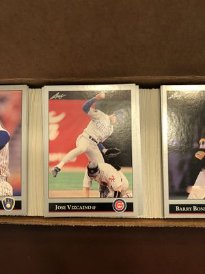 1992 Leaf baseball cards series 1&2 for Sale in Hillsboro, OR