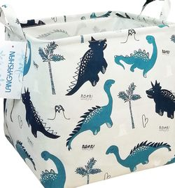 Dino Print Waterproof Storage Hamper for Kids Laundry and Toys for Sale in Silverado,  CA