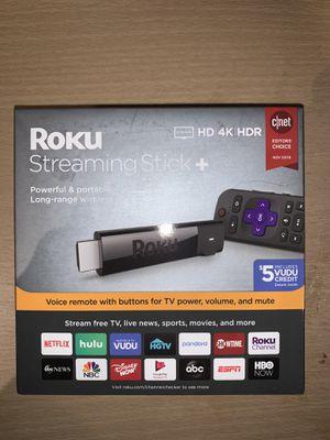 Roku streaming stick plus for Sale in Aurora, IL