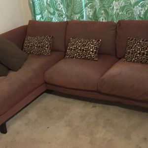 Nockeby, 3 Seat Sectional Sofa with Chaise Left for Sale in Beaverton, OR