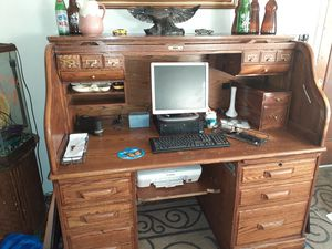 Computer Rolltop Desk for Sale in Pensacola, FL