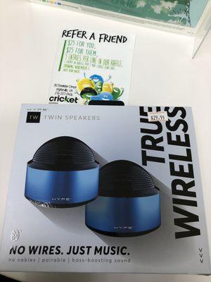 Tru wireless Bluetooth speakers for Sale in Wytheville, VA