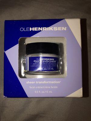 Ole Henriksen sheer transformation moisturizer for Sale in Tulsa, OK