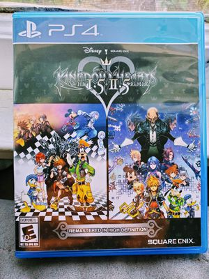 PS4 Game Kingdom Hearts 1 & 2 HD remix remastered. for Sale in San Diego, CA