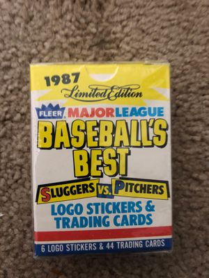 1987 fleer baseballs best set of 44 cards per set for Sale in Las Vegas, NV