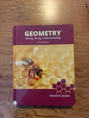 Geometry: Seeing, Doing, Understanding book with Teacher's guide and Solutions Manual for Sale in Yancey Mills, VA