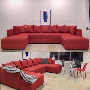 Modern red Sectional Sofa couch for Sale in North Miami Beach, FL