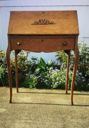 Antique Oak Desk for Sale in Miami, FL