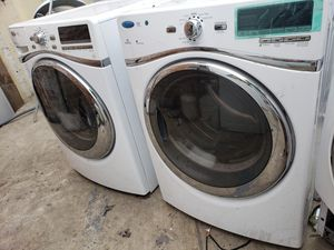 WHIRLPOOL DUET SET FRONT LOAD WASHER AND GAS DRYER SET for Sale in Perris, CA