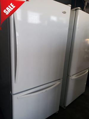🌟🌟Bottom Freezer Refrigerator Fridge Whirlpool White #832🌟🌟 for Sale in Ontario, CA