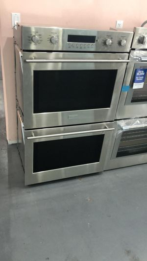 "(55) New 30"" Stainless Steel Double Wallpaper Oven 🔥 EzFinancing 39$ Down - No Credit Needed! for Sale in Houston, TX"