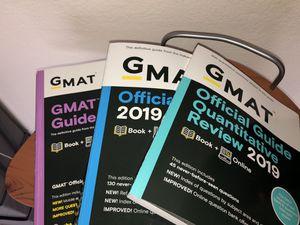 3 GMAT exam prep books for Sale in Seattle, WA