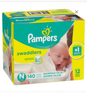 Newborn Pampers 140 Count❗️ for Sale in Philadelphia, PA