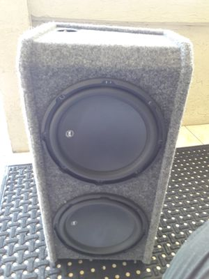 "W3JL 12"" subs woofers for Sale in West Palm Beach, FL"