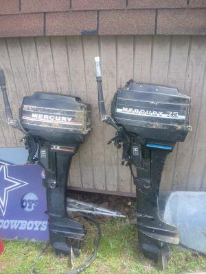 2 Mercury7.5 outboard motors for Sale in California, MD