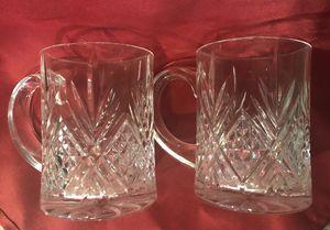 Clear Coffee Mugs Crystal? for Sale in Monroe, WA