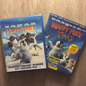 Happy feet 1&2 blu-Ray for Sale in Monterey Park, CA