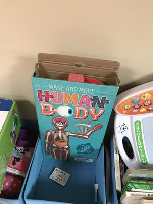 Human Body Puzzle Educational Game for Kids for Sale in Dearborn Heights, MI