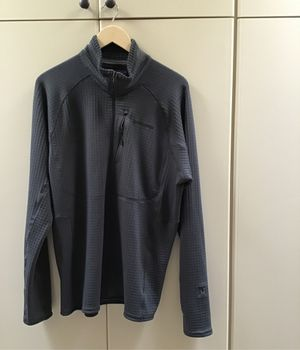 Patagonia R1 Half-Zip Pullover Men's Large Forge Grey for Sale in Phoenix, AZ