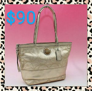 👜Coach Signature Stitch Tote Bag F18877 for Sale in Gresham, OR