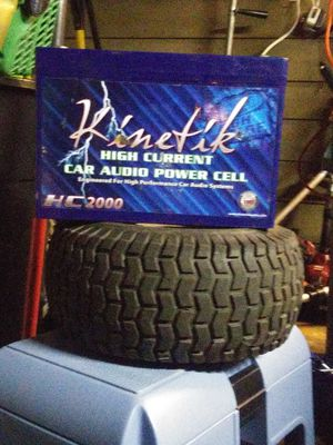 KINETIK HIGH CURRENT CAR AUDIO BATTERY for Sale in Tacoma, WA