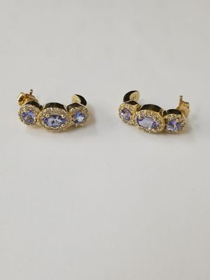 Tanzanite Diamond Earrings for Sale in San Diego, CA