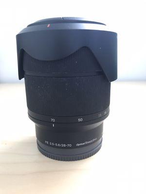 Sony FE 28-70 f/3.5-5.6 Camera Lens for Sale in Seattle, WA