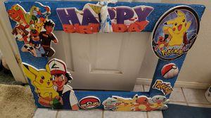 Pokemon picture frame for Sale in Oxnard, CA