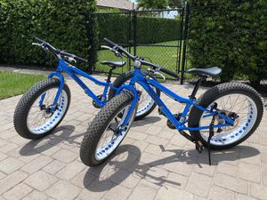 "Mongoose 24"" Fat Tire Bike (2 available) for Sale in Fort Lauderdale, FL"