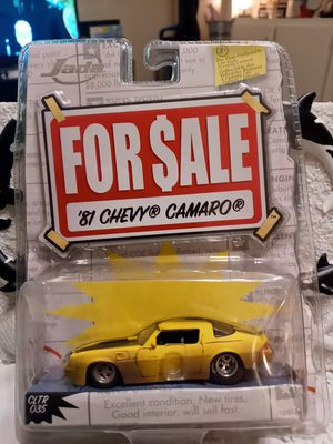 1:64 Scale Jada Toys Inc. DieCast 1981 Chevy Camaro for Sale in Creedmoor, NC
