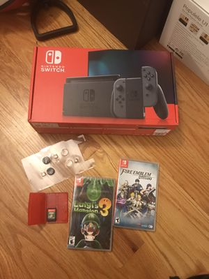 Nintendo switch console bundle for Sale in Quincy, MA