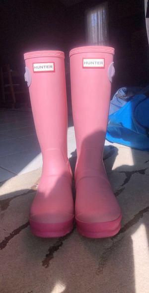Hunter boots size 6 for Sale in Lake Villa, IL