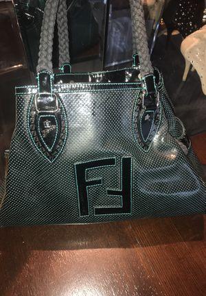 Fendi du jour black patent leather bag for Sale in Silver Spring, MD