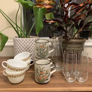 Vintage glassware for Sale in Scottsdale, AZ