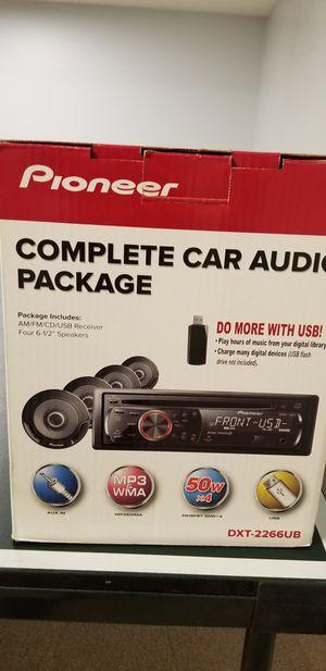 Pioneer Mp3 Car Audio Package for Sale in Sterling, VA