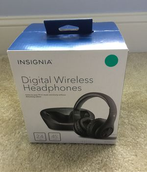 Insignia Digital Wireless Headphones for Sale in Rockville, MD