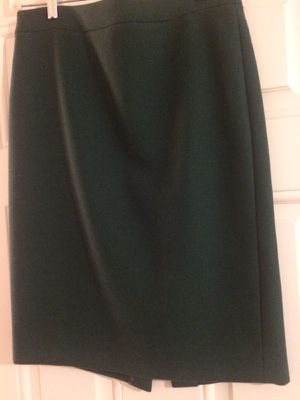J. Crew pencil skirts. One is camel color. One is hunter green. Size 4. Lined. Pure wool. Hits at knee. Excellent condition. 40 each. for Sale in Fairfax Station, VA