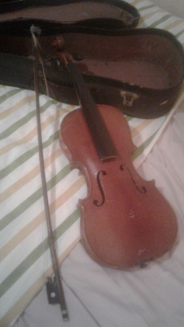 100 year old Estrada violin