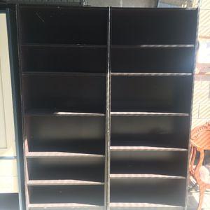 Regular brown bookshelves for Sale in Brooklyn, NY