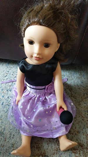 Girl doll american girl size for Sale in Riverside, CA