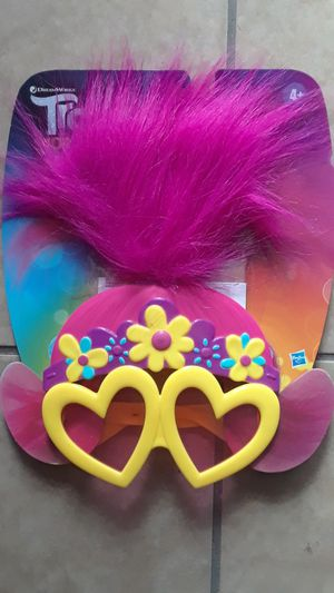 TROLLS WORLD TOUR GLASSES $10 ✔✔✔PRICE IS FIRM✔✔✔ for Sale in Huntington Park, CA