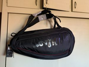 Tennis Bag Team Federer Holds 6 Rackets 3 Exterior Pockets High Quality for Sale in Downey, CA