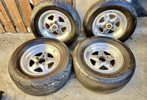 Weld Racing Drag Pack w/ Almost New Mickey Thompson Drag Radials for Sale in Los Angeles, CA